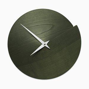 Orologio da parete Nudo Vulcano di Andrea Gregoris per Lignis