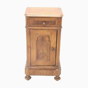 Table de Chevet Ancienne en Noyer, années 1880