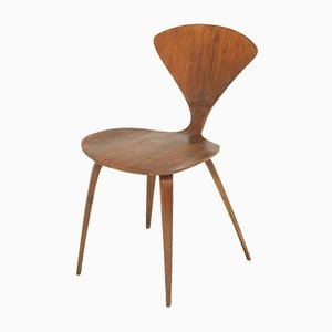 Walnut Dining Chair by Norman Cherner for Plycraft, 1950s