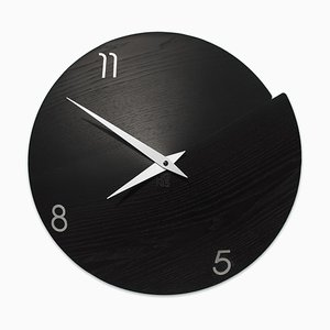 Vulcano Numbered Wall Clock by Andrea Gregoris for Lignis