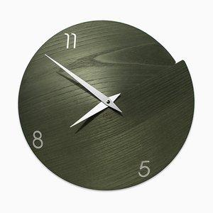Horloge Murale Vulcano par Andrea Gregoris pour Lignis