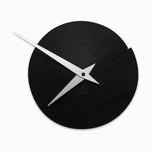 Horloge Murale Vulcanello par Andrea Gregoris pour Lignis