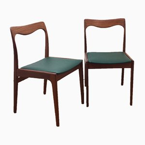 Dining Chairs from AWA Meubelfabriek, 1960s, Set of 2