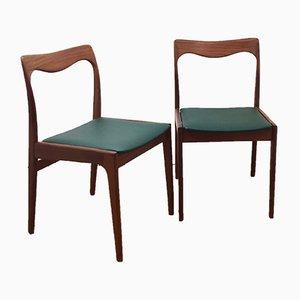 Esszimmerstühle von AWA Meubelfabriek, 1960er, 2er Set