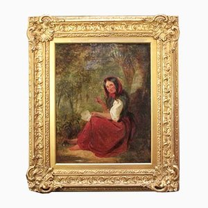 The Fortune Teller Oil Painting by Benjamin Callow, 1859
