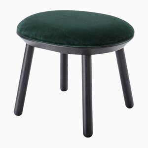 Naïve Ottoman In Bottle Green by Etc.etc. for Emko