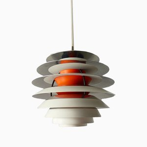 Lampada da soffitto Mid-Century di Poul Henningsen per Louis Poulsen, anni '60