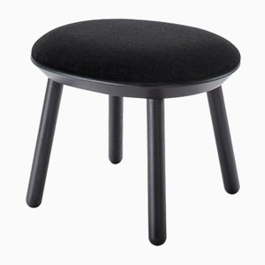 Naïve Ottoman In Black by Etc.etc. for Emko