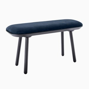 Royal Blue Velour L1000 Naïve Bench by Etc.etc. for Emko