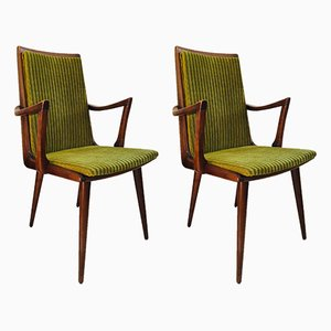 Mid-Century Dutch Dining Chairs, Set of 2