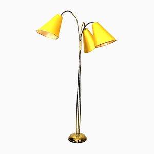 Stehlampe von Rupert Nikoll, 1950er