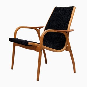 Swedish Lounge Chair by Yngve Ekström for Swedese, 1960s