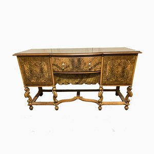 Burr Walnut Sideboard from The Bath Cabinet Makers Company London, 1920s