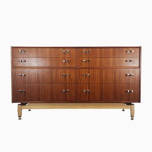 Teak and Tola Veneer Dresser by Donald Gomme for G-Plan, 1960s