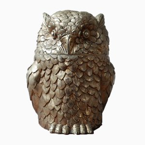 Owl Ice Bucket by Mauro Manetti for Fontana Arte, 1960s