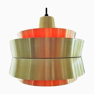 Lampada da soffitto di Carl Thore & Sigurd Lindkvist per Granhaga Metallindustri, Svezia, anni '60