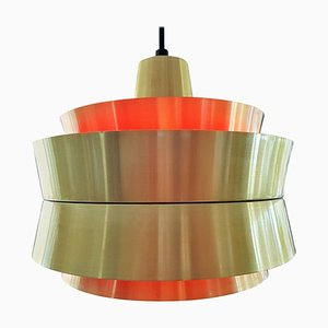 Swedish Ceiling Lamp by Carl Thore & Sigurd Lindkvist for Granhaga Metallindustri, 1960s