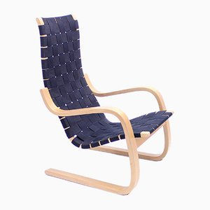 Model 406 Lounge Chair by Alvar Aalto for Artek, 1950s