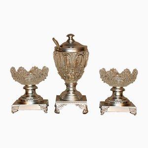 Antique Bowls, Set of 3