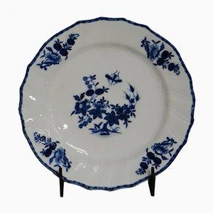 Assiette Tournai Ancienne en Porcelaine