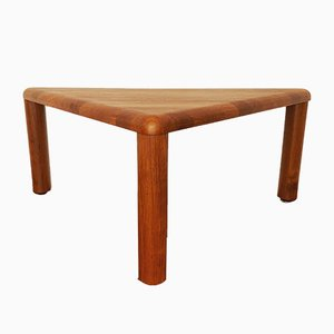 Teak Triangular Coffee Table from Dyrlund, 1960s