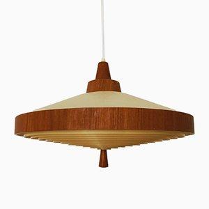 Teak Pendant Lamp from Temde, 1960s