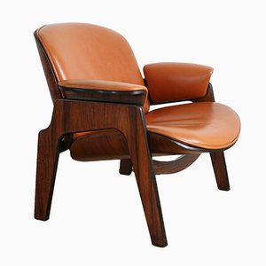 Italian Lounge Chair by Ico Luisa Parisi for MIM, 1960s