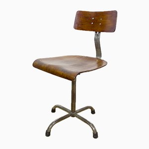 Industrial Spanish Swivel Chair, 1950s