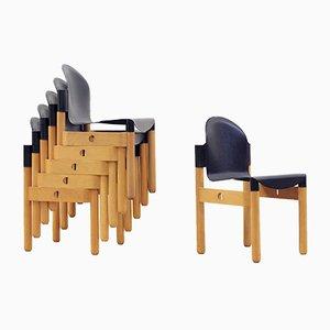 Esszimmerstühle von Gerd Lange für Thonet, 1970er, 6er Set