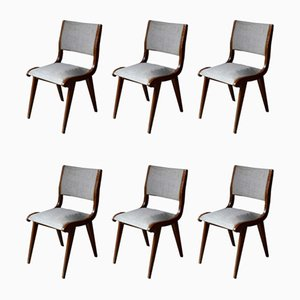 Dining Chair by Hans Bellmann for Domus, 1950s, Set of 6