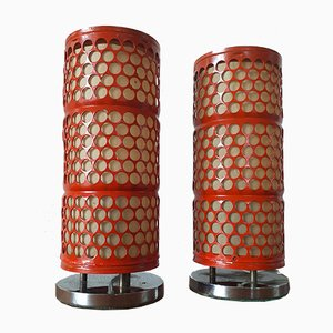 Mid-Century Table Lamps by Josef Hurka for Napako, 1960s, Set of 2