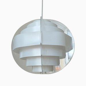 Lampe à Suspension Mid-Century par Preben Jacobsen et Flemming Brylle, Danemark, 1979