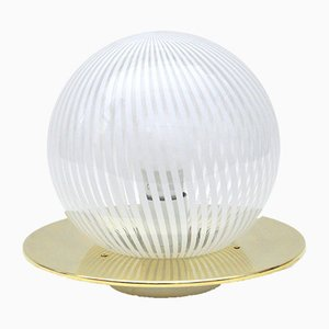 Vintage Tischlampe aus Muranoglas von Venini, 1970er