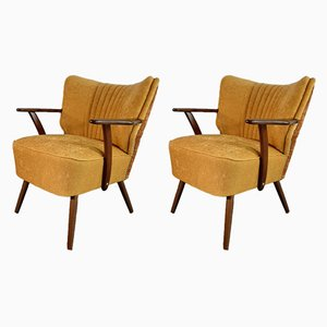 Vintage German Cocktail Chairs, 1950s, Set of 2