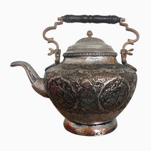 Antique Bronze Teapot