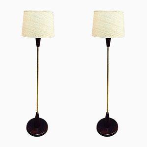Floor Lamps, 1950s, Set of 2