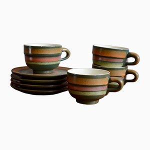 Kaffeeservice, 1960er, 8er Set