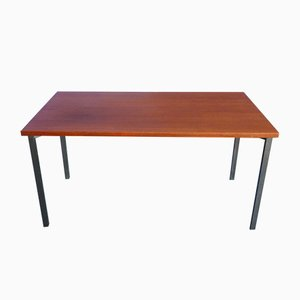 Mid-Century Teak Dining Table by Herbert Hirche for Christian Holzäpfel