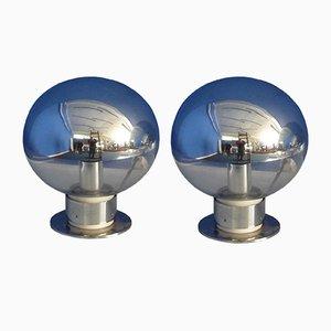 Lámparas de mesa alemanas de Motoko Ishii para Staff, años 60. Juego de 2