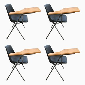 Desk Chairs by Robin Day for Hille, 1963, Set of 4