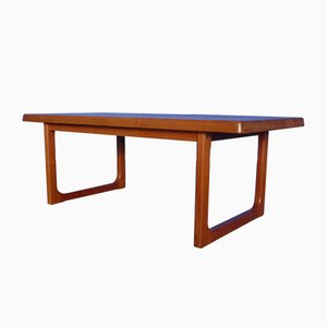 Danish Teak Coffee Table by Niels Bach for Niels Bach Møbelfabrik, 1970s