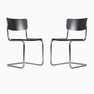Vintage S43 Dining Chairs by Mart Stam & Marcel Breuer for Thonet, 1931, Set of 2