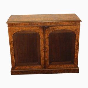 Antique Burr Walnut Cabinet, 1905