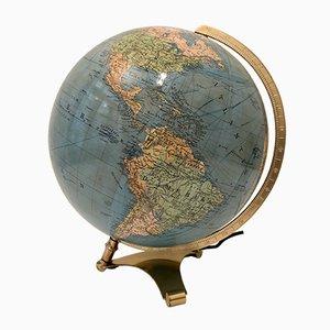 Vintage Globus von Columbus, 1950er