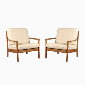 Mid-Century Danish Rosewood Lounge Chairs, 1960s, Set of 2