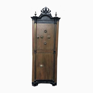 Antique Napoleon III Safe Cabinet