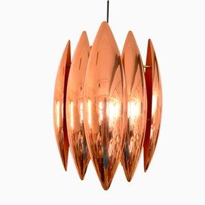 Lampe à Suspension Kastor en Cuivre par John Hammerborg pour Fog & Mørup, 1960s