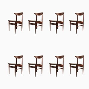 Danish Rosewood Dining Chairs from Skovby Møbelfabrik, 1960s, Set of 8