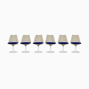 Chaises de Salle à Manger Tulipe Mid-Century par Eero Saarinen pour Knoll Inc. / Knoll International, Set de 6
