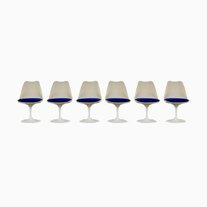 Mid-Century Tulip Esszimmerstühle von Eero Saarinen für Knoll Inc. / Knoll International, 6er Set